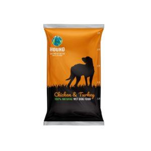 האונד מזון טבעי לא מצריך הקפאה 14 ק״ג